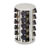 Kamenstein® Stainless Steel 20-Jar Filled Revolving Spice Rack Tower