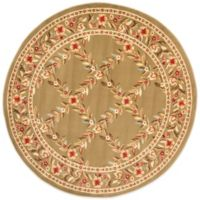 Safavieh Lyndhurst Collection Feodore 5-Foot 3-Inch Round Rug in Green