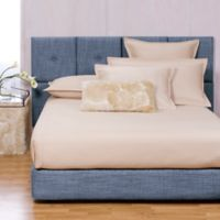 Howard Elliott® Coco Queen Bed and Headboard Kit in Sapphire