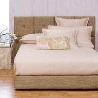 Howard Elliott® Coco King Bed and Headboard Kit in Stone