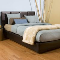 Howard Elliott® Avanti King Bed and Headboard Kit in Pecan