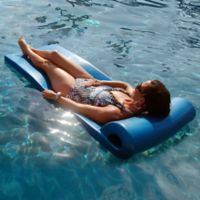 Ultra Pool Float in Metallic Blue