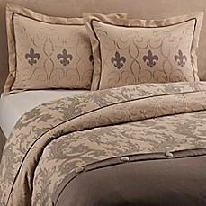 Fleur de lis duvet cover set bed bath beyond - Fleur de lis bedspread ...