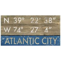 Atlantic City Framed Art