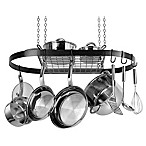 Range Kleen® Oval Hanging Pot Rack in Black