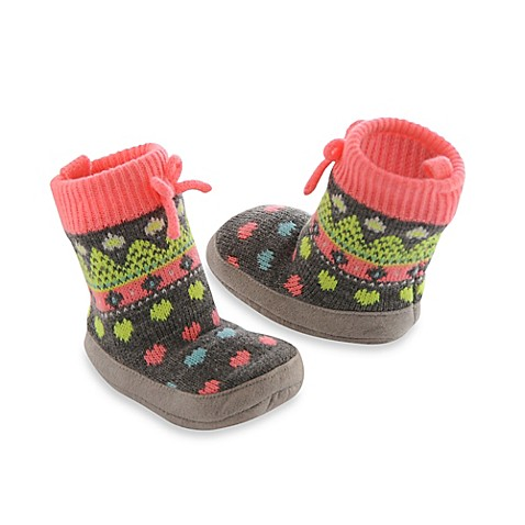 Carter's® Fair Isle Slipper Socks - buybuy BABY