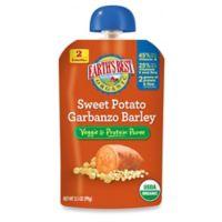 Earth's Best® Organic 3.5 oz. Sweet Potato Garbanzo Barley Veggie & Protein Puree