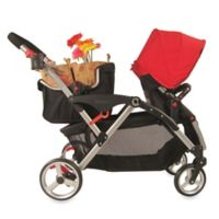 Contours® Stroller Shopping Basket in Black