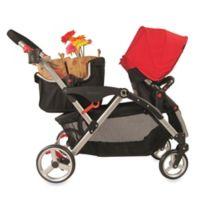 Contours® Stroller Shopping Basket in Black