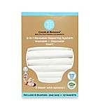 Charlie Banana® 6-Pack 2-in-1 Cloth Diapers in White