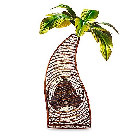 Deco Breeze 174 Palm Tree Figurine Table Fan Bed Bath Amp Beyond