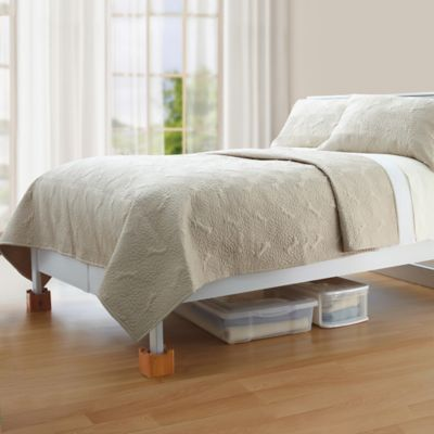 buy bed risers from bed bath & beyond