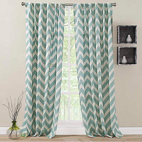Perfect Zigami Rod Pocket Back Tab Window Curtain Panel