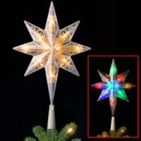"National Tree Pre-Lit 11"" Bethlehem Star Tree Topper"
