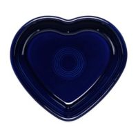 Fiesta® Medium Heart Bowl in Cobalt Blue