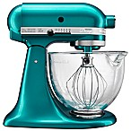 KitchenAid® 5 qt. Artisan® Design Series Stand Mixer with Glass Bowl in Seaglass