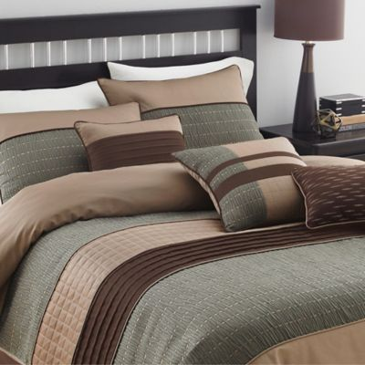 Buy Taupe King Comforter Set from Bed Bath & Beyond