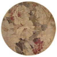 Nourison Somerset 5-Foot 6-Inch Round ST83 Rug in Multicolor