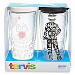 Tervis® Dress and Tuxedo 24 oz. Wrap Tumblers with Lids