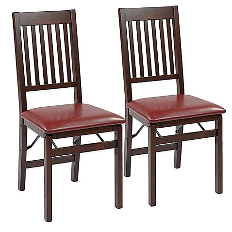 dining room folding chairs | Office Star® Products Hacienda Mission Back Folding Chair ...