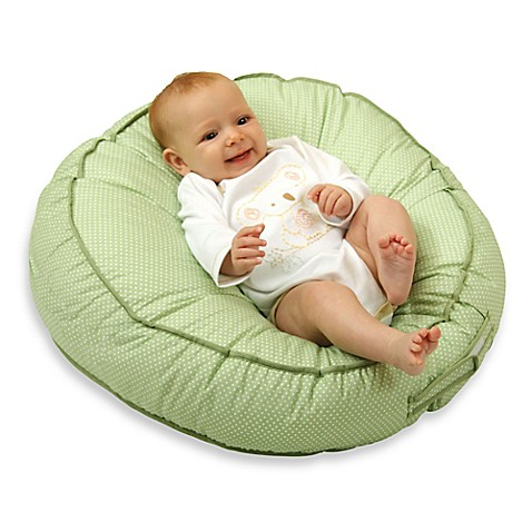 Leachco 174 Podster 174 Sling Style Infant Lounger In Green Pin