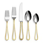 Reed & Barton 45-Piece Kendrick Gold Flatware Set