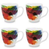 Konitz On Color Mugs (Set of 4)