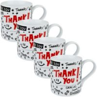 Konitz Thank You Mugs (Set of 4)