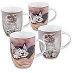 Konitz Kitten Mugs (Set of 4)