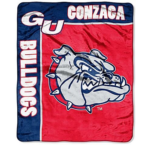 Gonzaga University Raschel Throw Blanket Bed Bath Amp Beyond