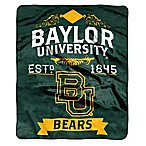 Baylor University Raschel Throw Blanket