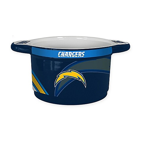 Nfl San Diego Chargers Sculpted Ceramic Gametime Bowl Bed Bath Beyond