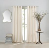 Anthology™ Sienna 63-Inch Window Curtain Panel in White
