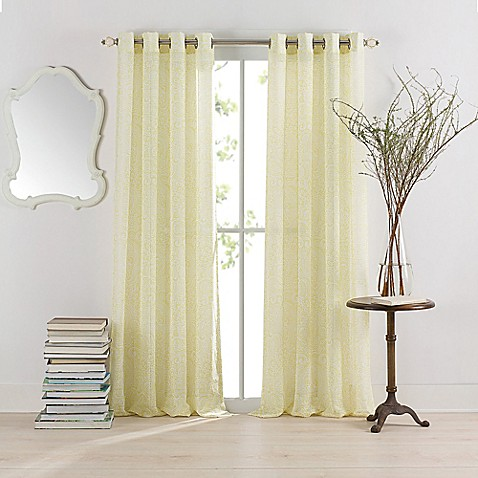 Anthology™ Serena Grommet Window Curtain Panel - Bed Bath & Beyond