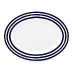 kate spade new york Charlotte Street™ 16-Inch Oval Platter in Indigo