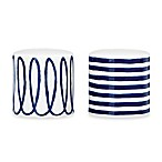 kate spade new york Charlotte Street™ Salt and Pepper Shakers in Indigo