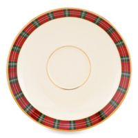 Lenox® Winter Greetings® Plaid Saucer