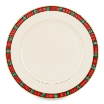 Lenox® Winter Greetings® Plaid Dinner Plate  sc 1 st  Bed Bath u0026 Beyond & Buy Holiday Dinner Plates from Bed Bath u0026 Beyond