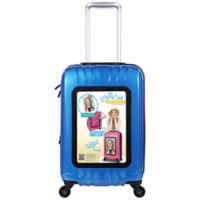 Traveler's Club® Selfie Club™ 20-Inch Personalized Hardside Rolling Carry-On in Navy