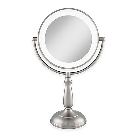 Zadro 174 1x 10x Dimmable Touch Led Lighted Makeup Mirror