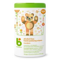 Babyganics® 100-Count Alcohol-Free Mandarin Hand Sanitizing Wipes