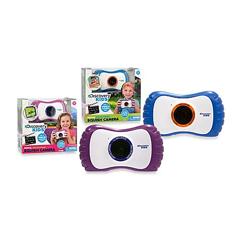 Discovery Kids™ Digital Photo/Video Squish™ Camera - Bed Bath & Beyond