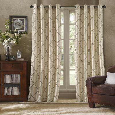Curtains Ideas 86 inch curtain panels : Buy 84-Inch Curtain Grommet Panels from Bed Bath & Beyond