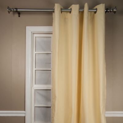 landis 63inch window curtain panel in yellow