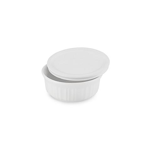 CorningWare® French White® 16 oz. Covered Round Baking Dish  sc 1 st  Bed Bath u0026 Beyond & CorningWare® French White® 16 oz. Covered Round Baking Dish - Bed ...
