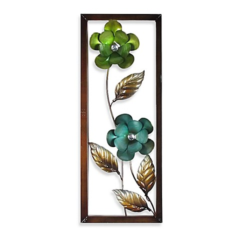 Metal Flower Wall Decor Bed Bath Beyond