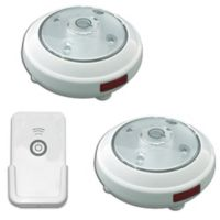 Puck Lights With Remote Control Set Of 2