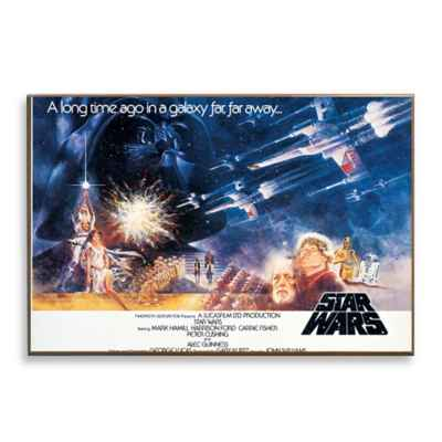 Star Wars™ A Long Time Ago Movie Poster Wall Décor Plaque