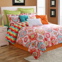 Fiesta® Ava Reversible King Comforter Set