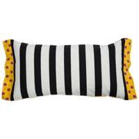 Rachel Kate Jealla Girl Oblong Throw Pillow in Pink